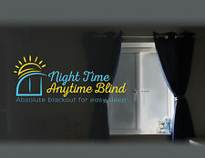 100% TOTAL BLACKOUT BLIND with NO LIGHT LEAKAGE DIY Perfect fit for any window*
