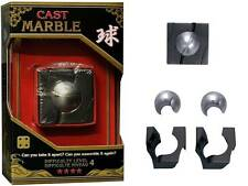 *NEW IN BOX* Hanayama Cast Metal Puzzle - MARBLE Level 4