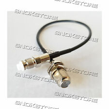 CAVO CABLE ADATTATORE ADAPTER CONNETTORE FME FEMALE TO F FEMALE L. 20cm RG174