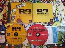 RIDGE RACER TYPE 4 PS1 PLAYSTATION NTSC JAPAN COMPLETO BUEN ESTADO
