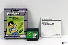 ★ Hartung Spiele Berlin SuperVision - TENNIS PRO 92 - Komplett in BOX OVP ★