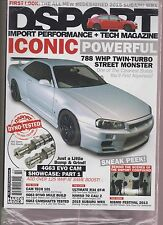 DSPORT IMPORT PERFORMANCE AND TECH MAGAZINE ISSUE #137 FEB 2014.