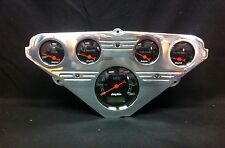 1955 1956 1957 1958 1959 CHEVY TRUCK 5 GAUGE CLUSTER BLACK