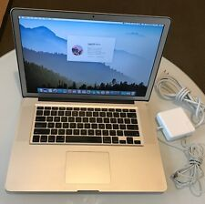 """Apple MacBook Pro A1286 15"""" 2011 Quad Core i7 2.3Ghz 10Gb RAM Matte Res1680x1050"""