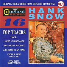 (CD) Hank Snow - Diamond Series - I've Been Everywhere, Six Days On the Road