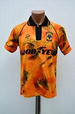 WOLVERHAMPTON WOLVES 1992/1993 HOME FOOTBALL SHIRT JERSEY BUKTA ENGLAND