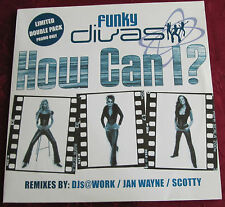 "Schallplatte Doppelalbum Maxi-Single Funky Divas ""How Can I ?"" Remixes"