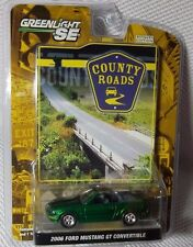 2006 FORD MUSTANG GT GREENLIGHT County Roads Ser#2 GREEN MACHINE CHASE #19 of 94