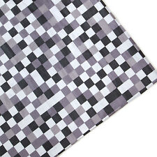 Grey Pixels Print Arts & Crafts Upholstery Fabric Polycotton Textile Material