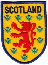 Aufnäher / Aufbügler Fußball + SCOTLAND + Schottland + Wappen + Sammler +