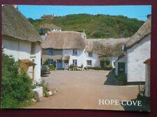 POSTCARD DEVON HOPE COVE - THE SQUARE