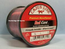Cajun Red Lightnin Red Cast 14# 850 yds Fishing Line