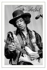 JIMI HENDRIX SIGNED PHOTO PRINT AUTOGRAPH THE EXPERIENCE VOODOO CHILD HEY JOE