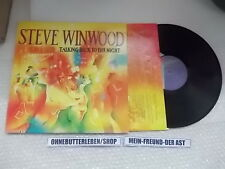 LP Pop Steve Winwood - Talking Back To The Night (9 Song) ISLAND USA / OIS