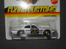 2012 HOT WHEELS FLYING CUSTOMS SHERIFF PATROL HOTWHEELS HW WHITE POLICE VHTF
