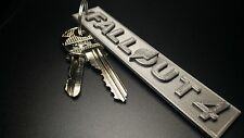 Fallout 4 3D Printed Keychain   *** HOT SALE!!!! *** 1+1 FREE!!! ***