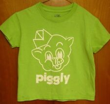 PIGGLY WIGGLY youth small T shirt supermarket chain pig logo Hilton Head tee SC