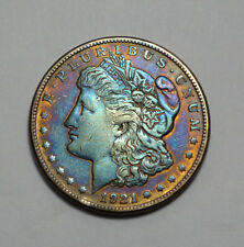 1921-S Morgan Dollar,  BETTER DATE , TONED Silver Coin, No Reserve !!!
