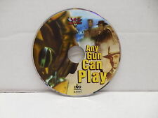Any Gun Can Play DVD Western Movie NO CASE Gold Train Robbery Edd Byrnes VCI