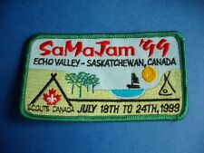 1999 BOY SCOUTS SA MA JAM ECHO VALLEY BADGE PATCH  SASKATCHEWAN CANADA
