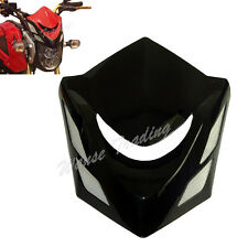 Front Headlight Head Light Lamp Cowl Cover Black Fit 2014+ HONDA Grom MSX 125