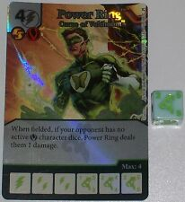 Foil POWER RING: CURSE OF VOLTHOOM 68 Green Arrow and The Flash Dice Masters