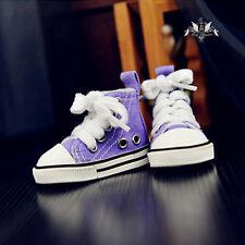 1/4 BJD Shoes MSD Dollfie Mid Purple Boots Canvas Sneaker LUTS AOD DOD SOOM EID