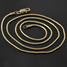 """17"""" Yellow Gold Filled Womens Snake Chain choker necklace free shipping"""