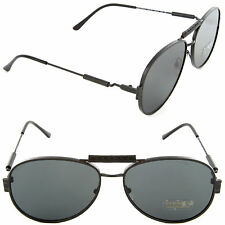 Versace VE 2167Q 1261/87 Pilot Sunglasses Matte Black/Grey Lens