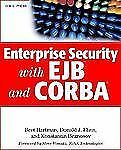Enterprise Security with EJB and CORBA(r)