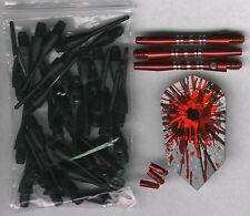 """THE HIT PACKAGE"" Soft Tip Dart Upgrade Kit: Red Tips, Red Shafts & More"