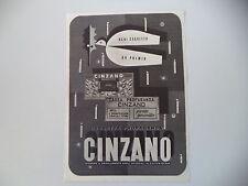 advertising Pubblicità 1948 CINZANO