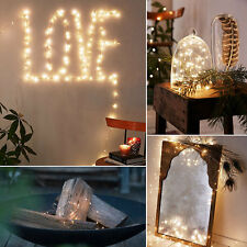 Copper LED String Fairy Lights w/ Remote Control Settings Indoor Outdoor Decor