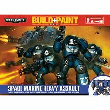 Warhammer 40K Build + Paint - Space Marine Heavy Assault - Build and Paint NEW