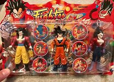 mexican DRAGON BALL Z GT Dbgt action figure Set Vegeta Goku VINTAGE