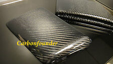 BENZ W212 E63 AMG CARBON FIBER FRONT BUMPER SIDE VENT INSERT COVER PAD PAIR TWN