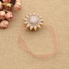 Gardine Zugband Fenster Wohndeko Halter Sonnenblume Magnet Vorhang Raffhalter 1x