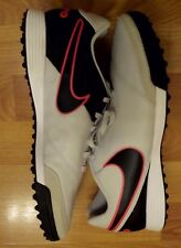 Nike Tiempo Genio II Leather TF Men's Turf Soccer Shoes 819216-001 SZ 10 Gray