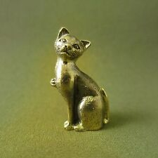 Siamese Cat Wealth Rich Lucky Attract Charm Thai Amulet