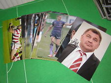 "*Clearance SALE 68 x Signed Wigan Warriors 12"" x 8"" Photographs Trade Offer*"