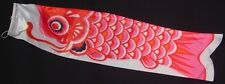 Large Koi Nobori Carp Wind Sock Red Koinobori Fish Kite Flag Hanging Wall Decor