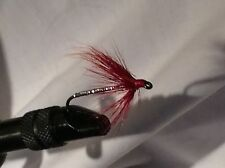 12 Red and Orange variation of Mickey Finn Flies 1331 Trout, Bass, Panfish