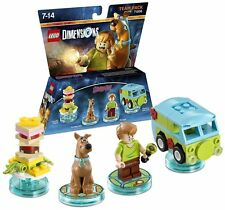 Lego dimensiones Scooby Doo Equipo Pack (NUEVO) (PS3/PS4/XBOX One/Wii U/Xbox 360)