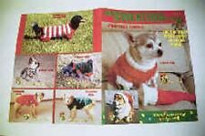 "Dog Sweater Knitting Patterns for Most Size Dogs -""Christmas Canine"""