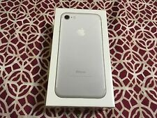 iPhone 7 128gb Factory Unlocked SILVER (Latest Model) FACTORY SEALED