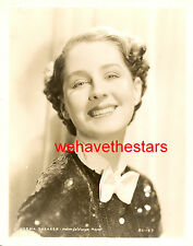 Vintage Norma Shearer GORGEOUS BEAUTY 30s MGM Publicity Portrait HURRELL