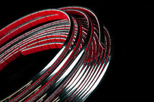 4 meters Chrome Car Styling Moulding Strip Trim Adhesive 3.5mm Width x 2mm Depth