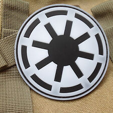 STAR WARS IMPERIAL AIRSOFT SPEC MORALE TACTICAL ISAF 3D PVC PATCH