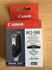 Origine CANON BCI 5BK cartouche d'encre BJC 8200