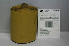 "01628 3M 5"" stickit 80 grit gold sandpaper roll 125 sheets dust-free MMM 1628"